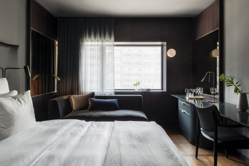 Universal Design Studio's At Six hotel in Stockholm