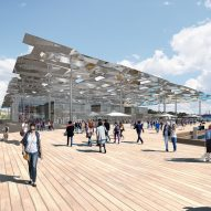 """Future Project of the Year 2017 imagines Sydney fish market as """"a new important public space"""""""