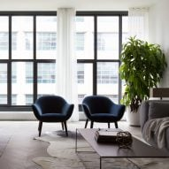 "Stefano Pasqualetti completes ""soothing and timeless"" condos in Tribeca"
