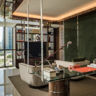 "Four Seasons Hotel DIFC in Dubai designed by Adam Tihany as ""a home away from home"""
