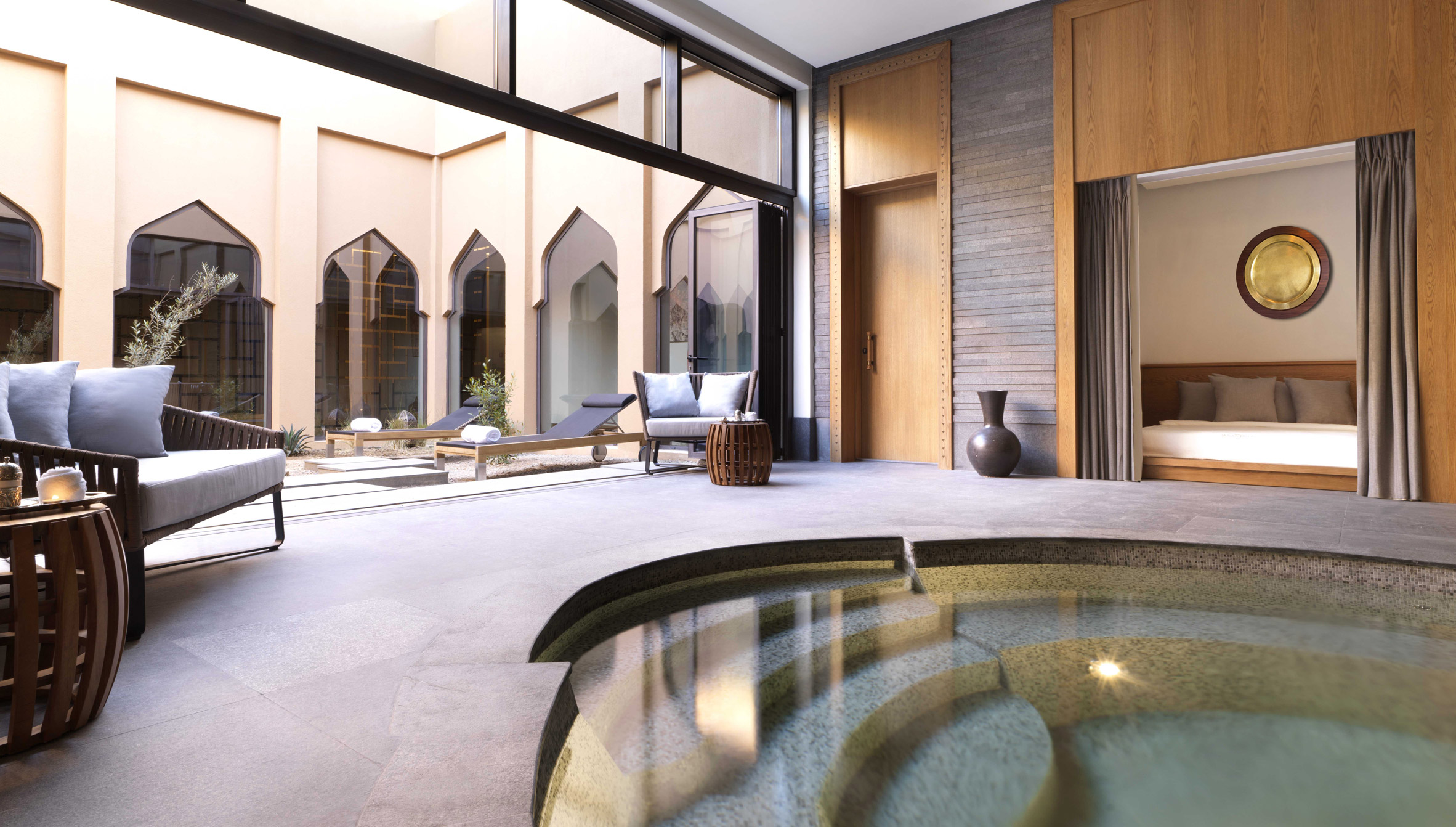 Four Seasons Hotel DIFC in Dubai designed as \