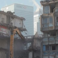 Footage reveals demolition of Robin Hood Gardens