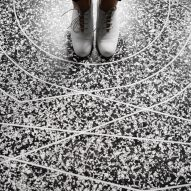 Robotic 3D printers create terrazzo floors in any pattern