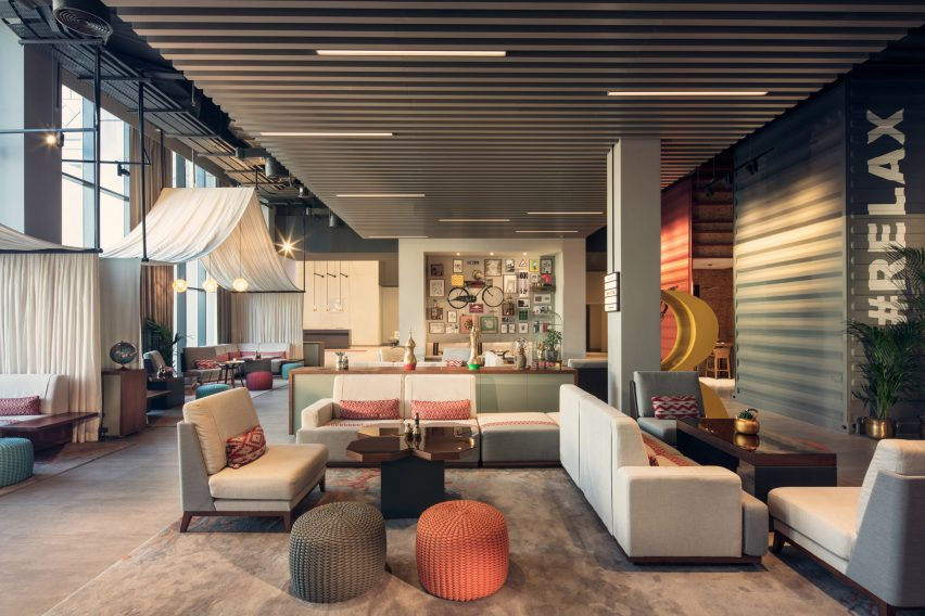 "Designs Of The Interior Amazing The Rove Downtown Hotel Is ""a New Concept For Dubai"""