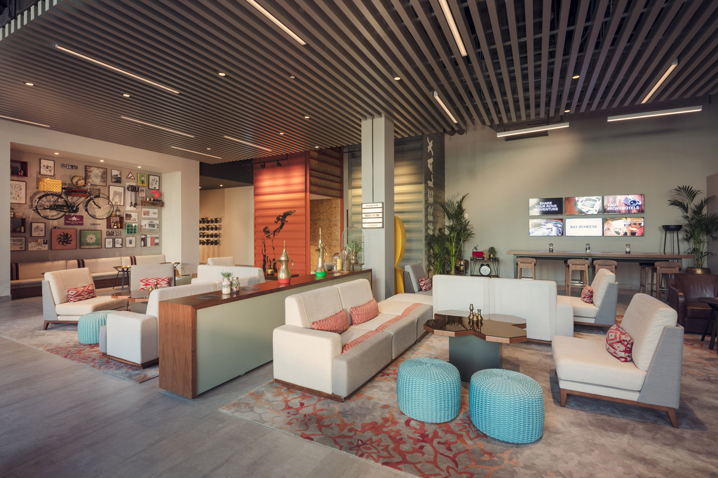 """The Rove Downtown hotel is """"a new concept for Dubai"""" says Anne-Cecile de Chaumont"""