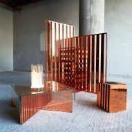Aljoud Lootah's furniture collection takes cues from traditional areesh structures