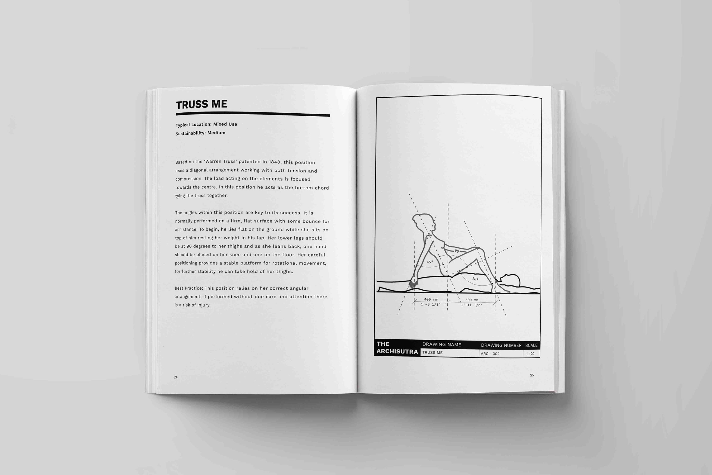 Archisutra manual teaches architecture and design-inspired sex positions