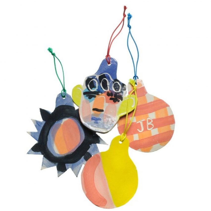 ceramic baubles by john booth - Designer Christmas Decorations