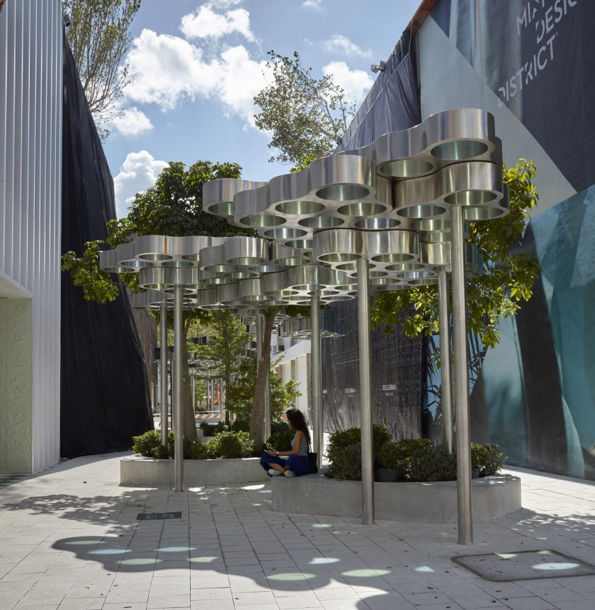 Bouroullec installation in Miami