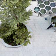 Bouroullec installation in Miami
