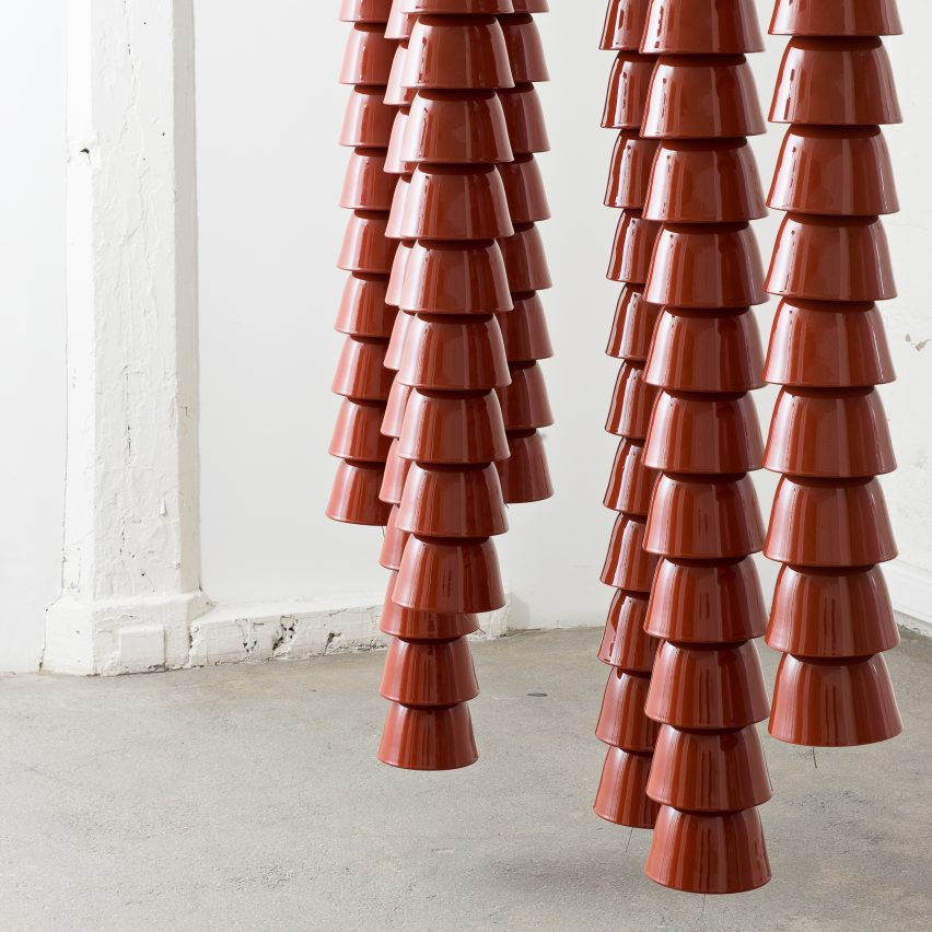 Chains by Ronan and Erwan Bouroullec, Galerie Kreo