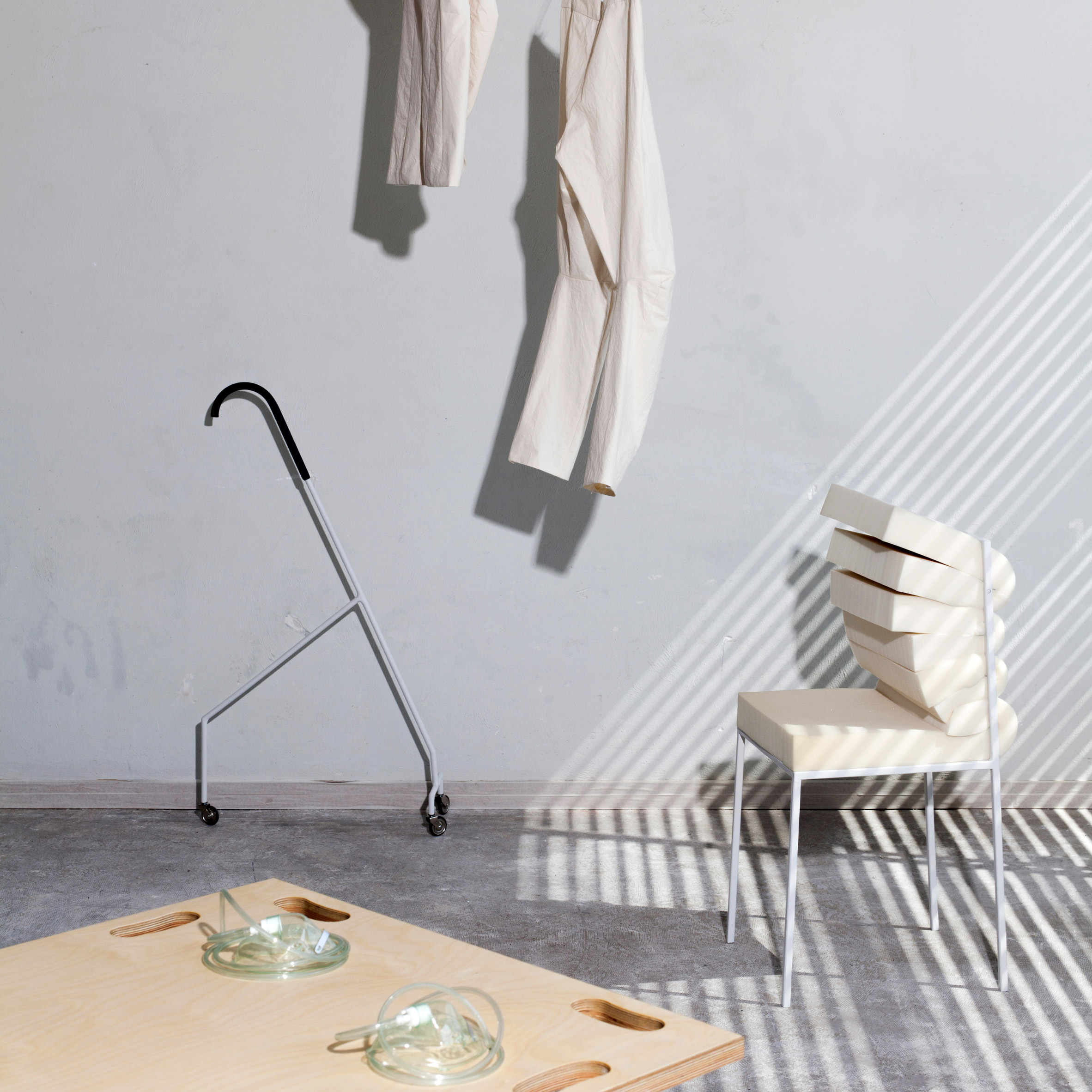 Dorota Gazy Creates Clothing And Furniture For A Lazy Lifestyle