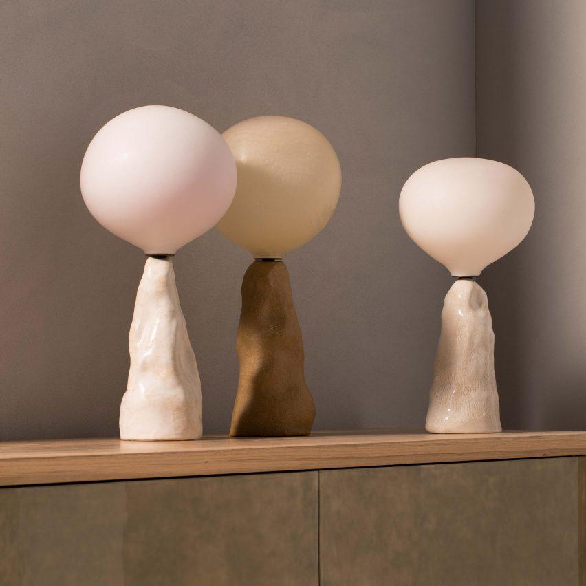 ET lamps by Pierre Yovanovitch