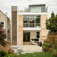 Feldman Architecture designs San Francisco home with rooftop garden and indoor swing