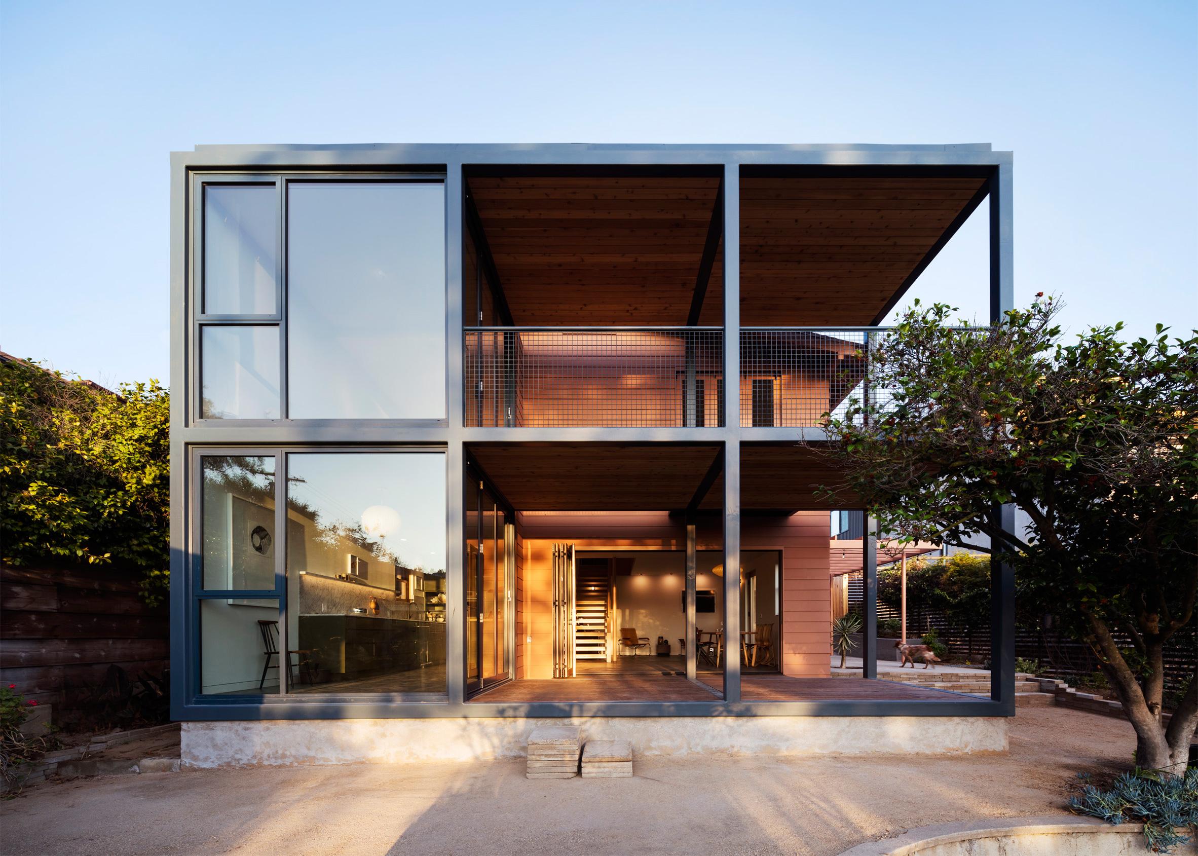 Fleischmann House, California, by Productora
