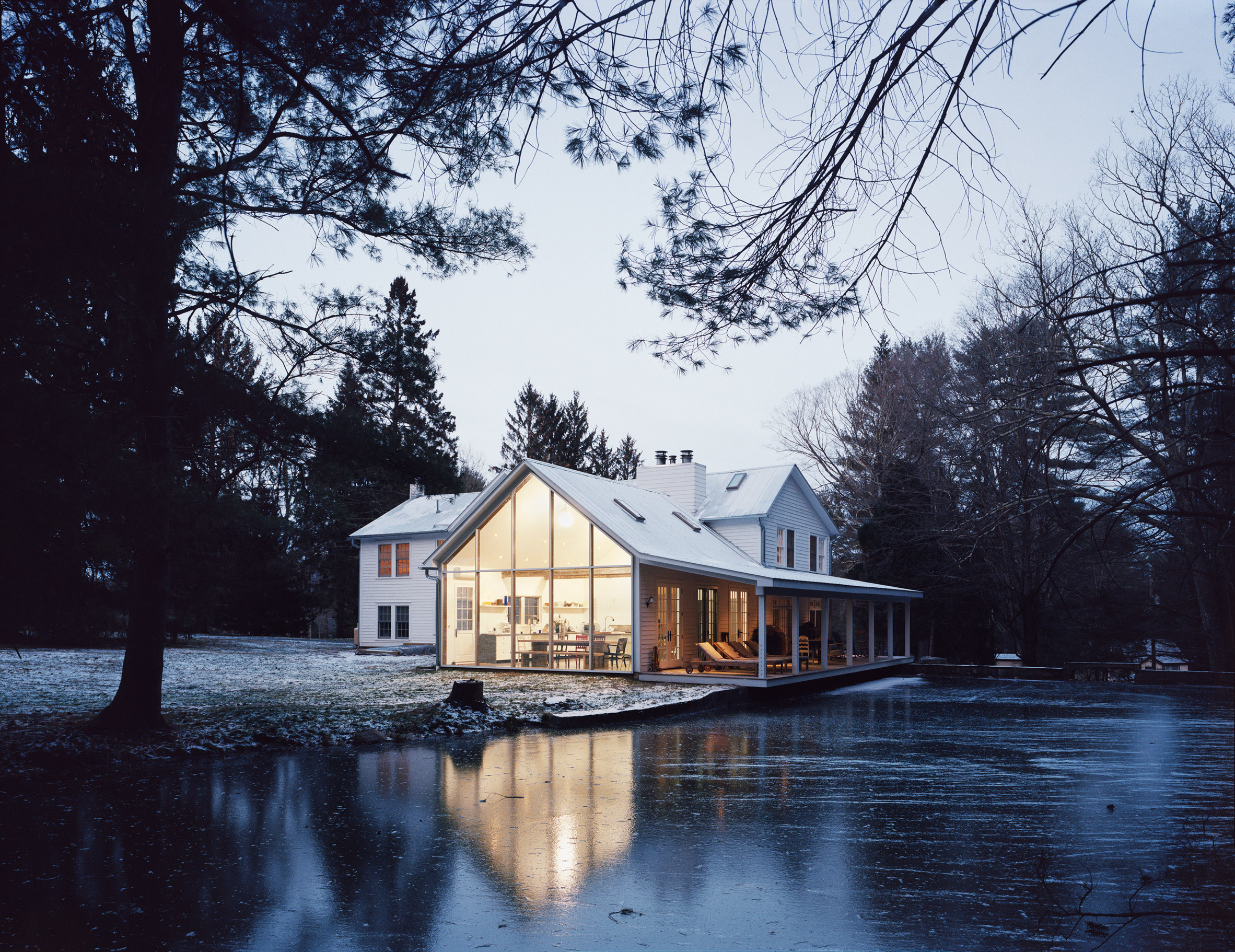 Floating Farmhouse by Tom Givone