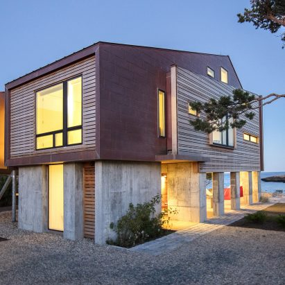 Gap Cove House by Ruhl Walker