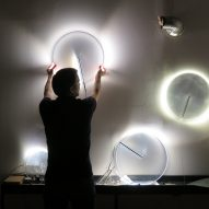 "Stefan Diez creates series of ""celestial"" lamps with seemingly invisible light sources"