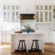 Interior design couple turn historic Williamsburg schoolhouse into light-filled home