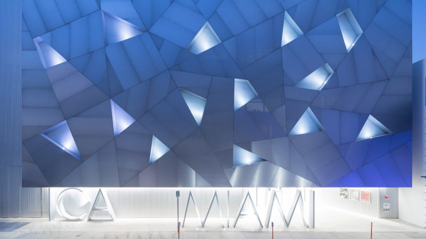 ICA Miami opens permanent home in metal faced building