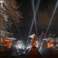 "Jason Bruges Studio installs ""cast"" of 20 robots across Hull for UK City of Culture celebrations"