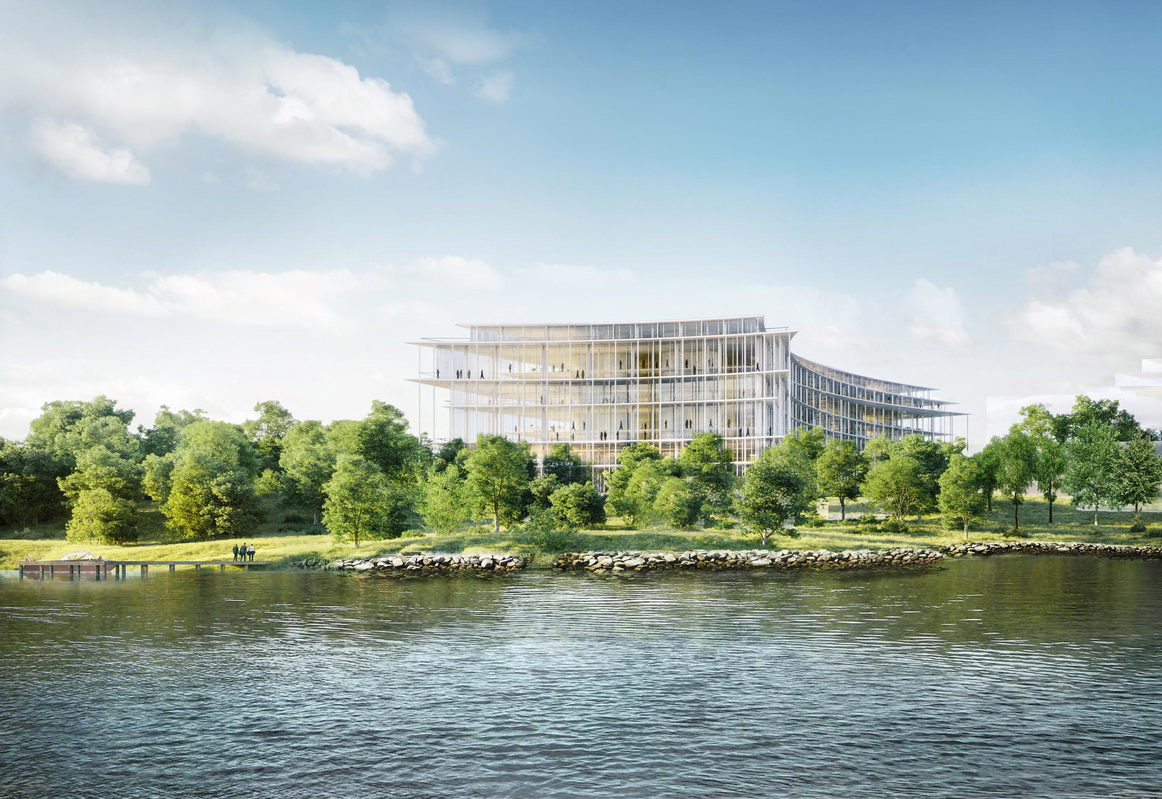 Herzog & de Meuron wins contest for Swiss bank on the shore of Lake Geneva