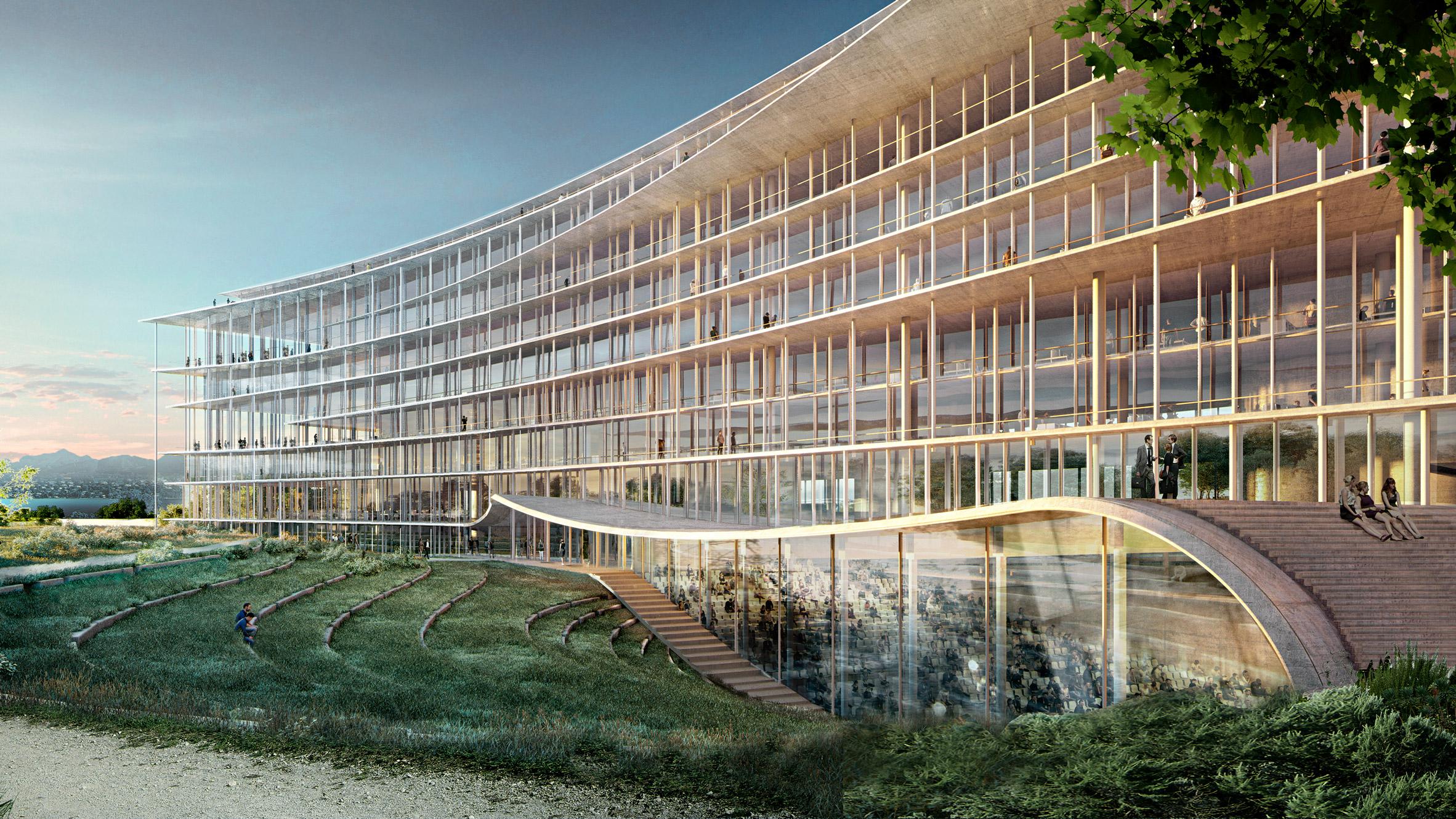 100 conceptual architecture dezeen cultural for K architecture geneve