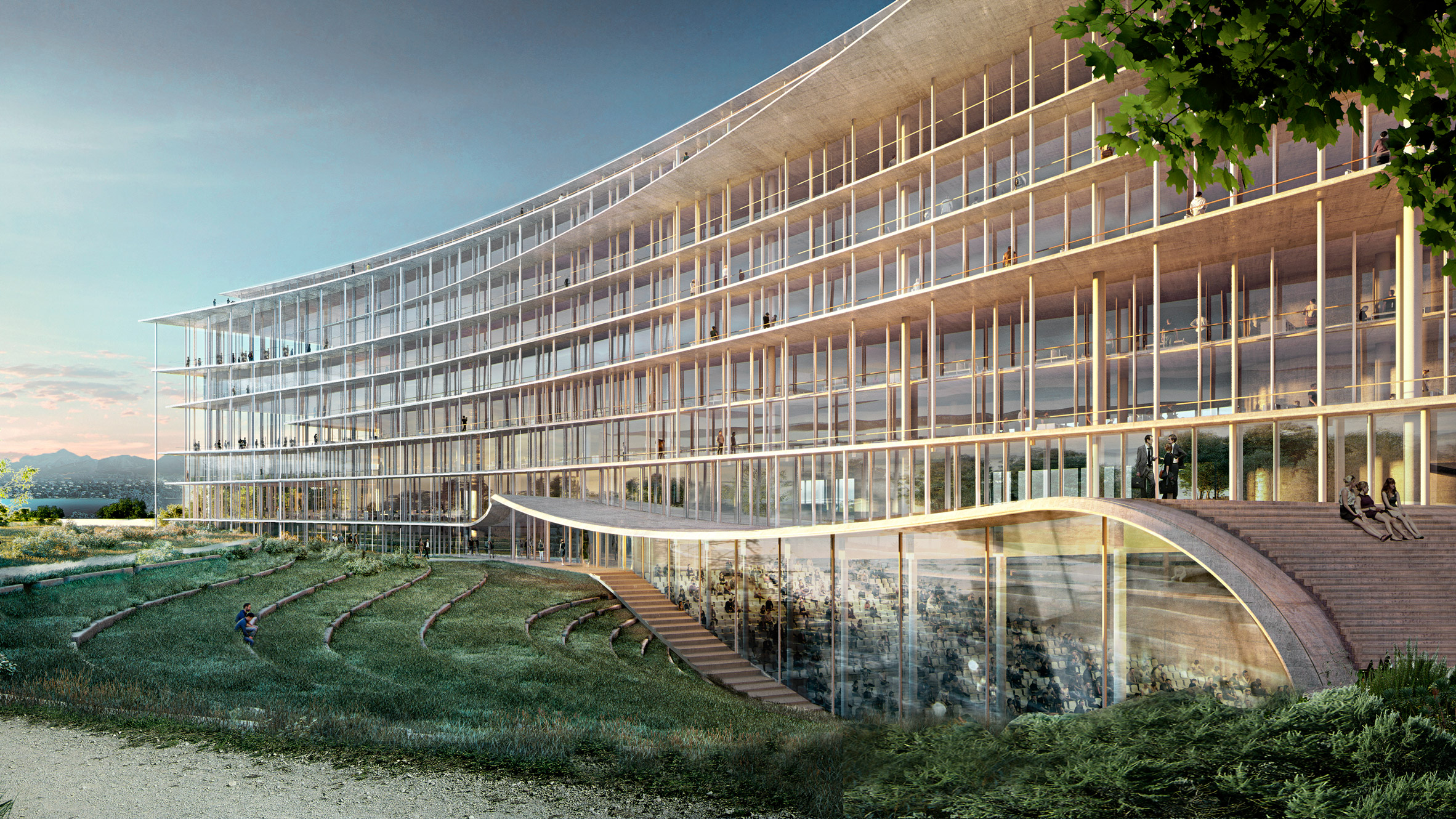 Bureau Architecture Geneve : Architecture and design in geneva dezeen