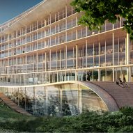 Herzog & de Meuron wins contest for Swiss bank on the shore of Lake Geneva
