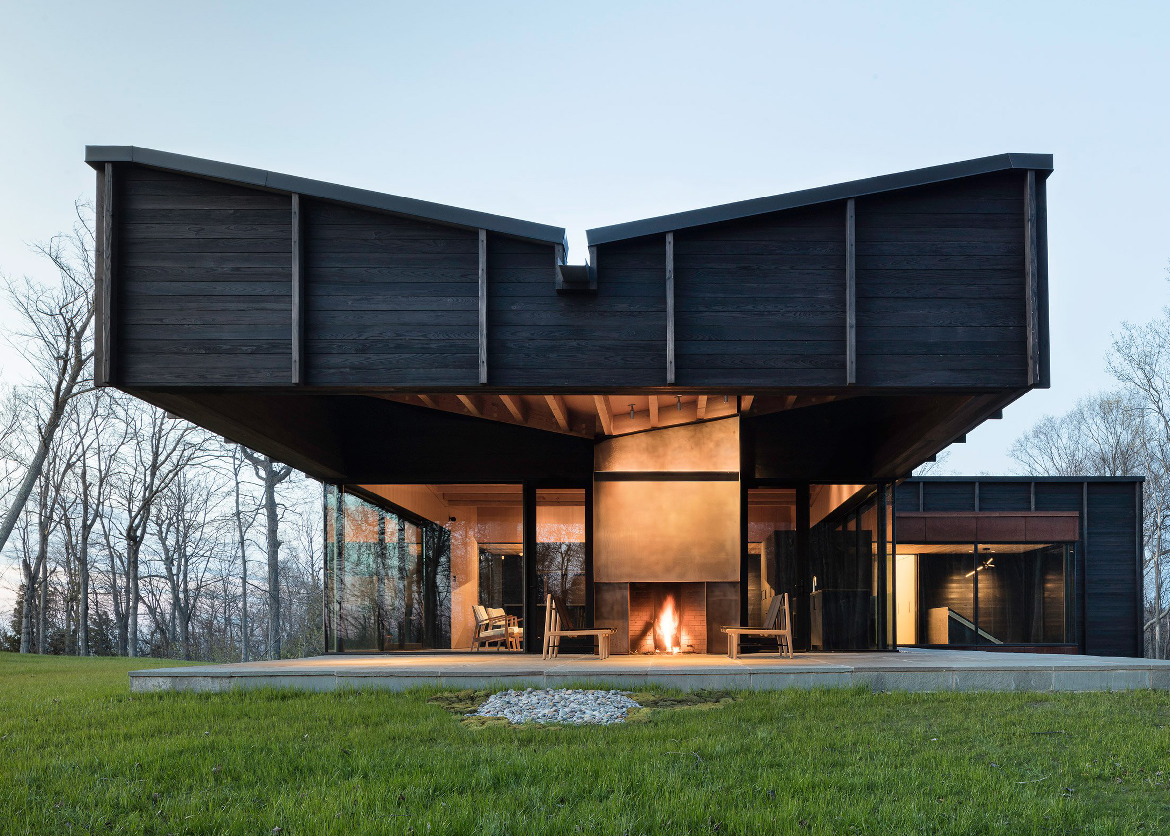 Michigan Lake House, Michigan, by Desai Chia Architects