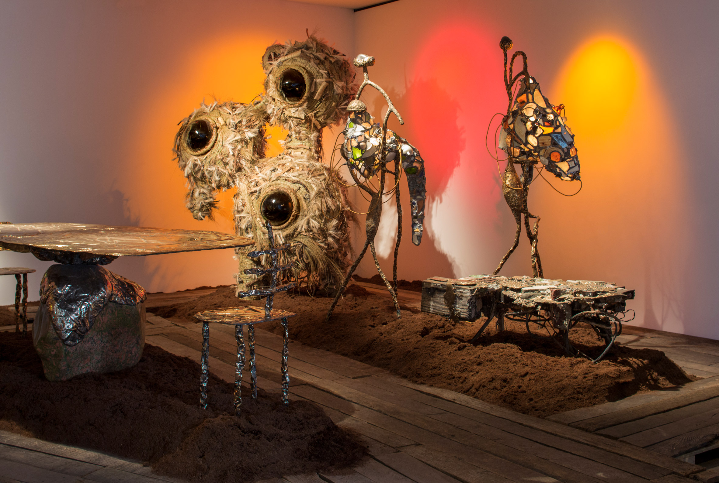 """Misha Kahn collects """"crap from the sea"""" for exhibition at Friedman Benda"""