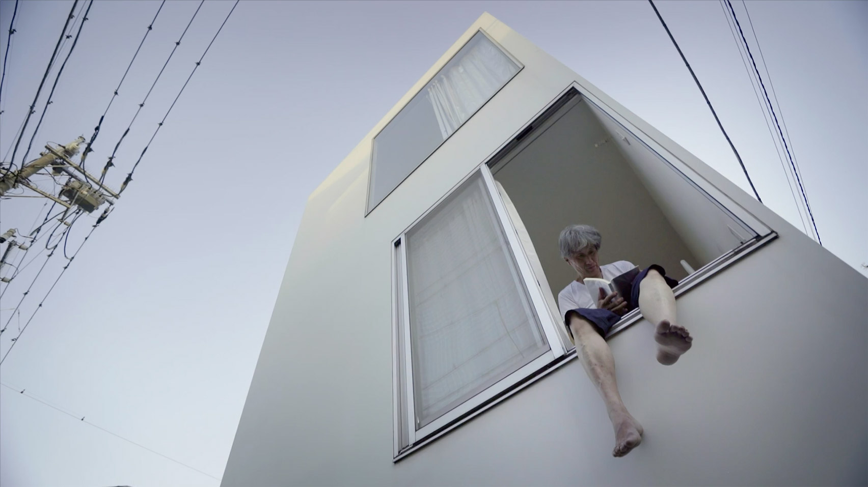 Watch Bêka & Lemoine's movie Moriyama-San, about the owner of Ryue Nishizawa's Moriyama House