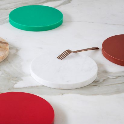 Dezeen has teamed up with Antwerp-based label valerie_objects to give readers the chance to win one of three pairs of kitchen accessories, designed by Belgian duo Muller Van Severen.