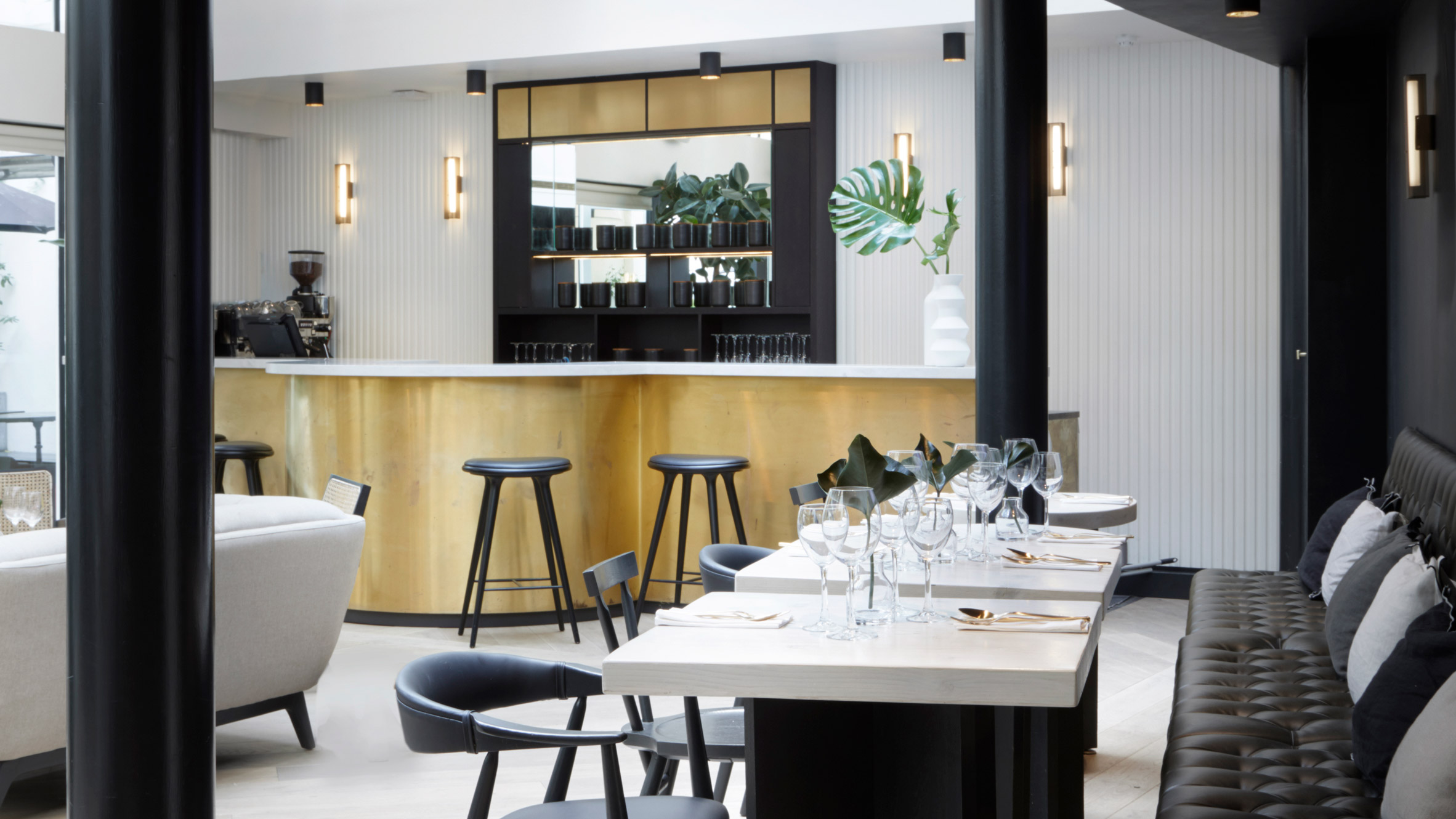 Dh liberty redesigns london hotel to hint at the owners love of plants