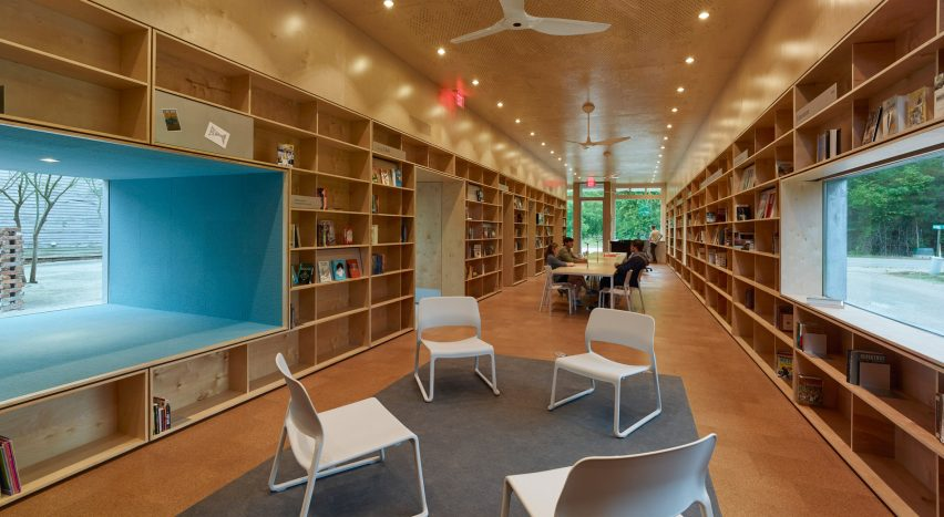 Newbern Library by Rural Studio