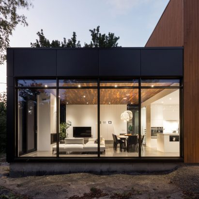 Oak Residence Is A Contemporary House In Suburban Quebec City