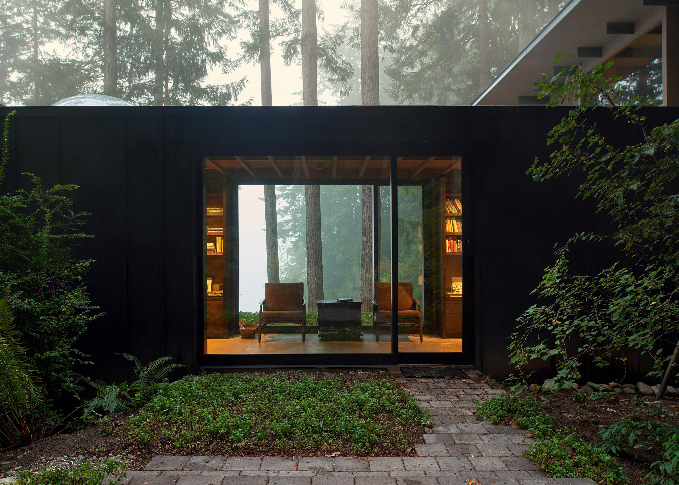 Olson Cabin, Washington, by Jim Olson
