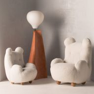 Cuddly bear-like chairs feature in OOPS furniture collection by Pierre Yovanovitch