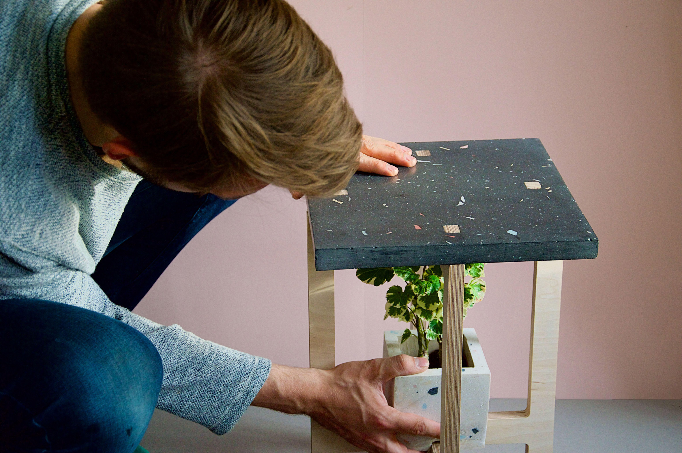 Florian Wegenast's furniture creates