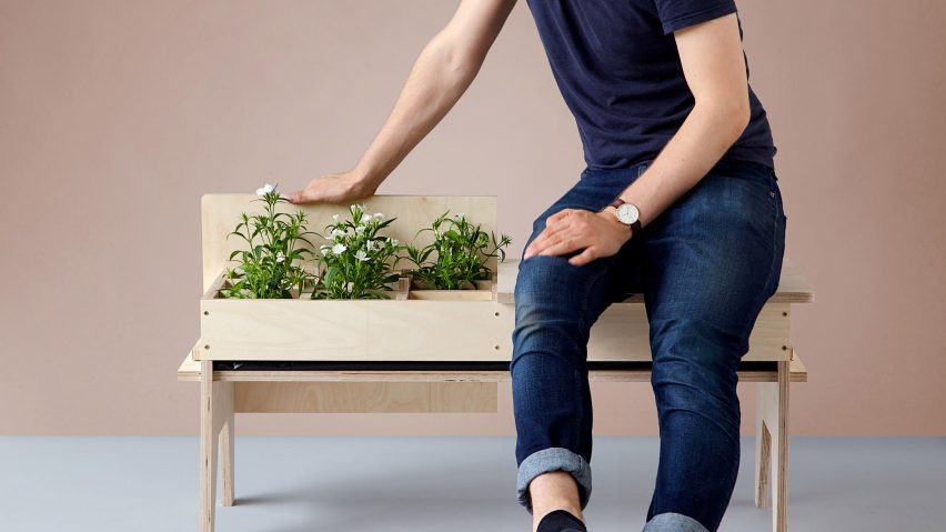 Florian Wegenast\'s furniture creates \