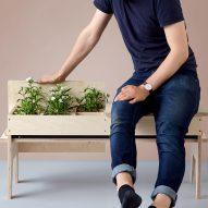 "Florian Wegenast designs furniture that creates ""temporary gardens"" in small spaces"