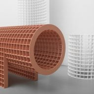 OS & OOS bases gridded furniture collection on architectural structures