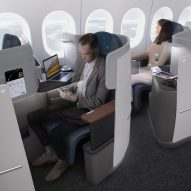 PearsonLloyd designs new business class cabins for Lufthansa