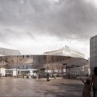 COBE and BRUT chosen to create new entrance plaza for EU headquarters in Brussels