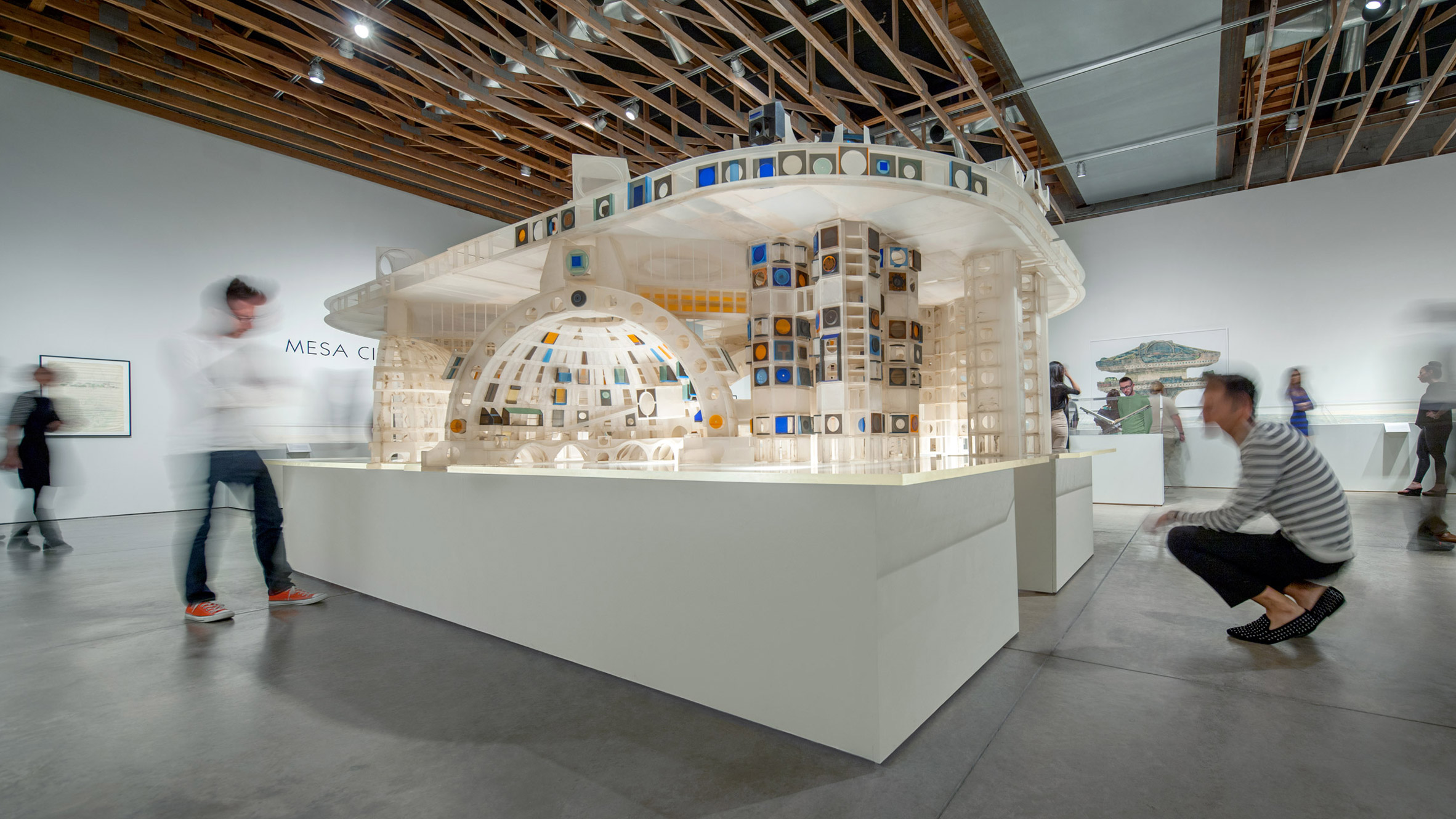 Paolo Soleri exhibition at SMoCA celebrates the architect's visionary ideas and legacy