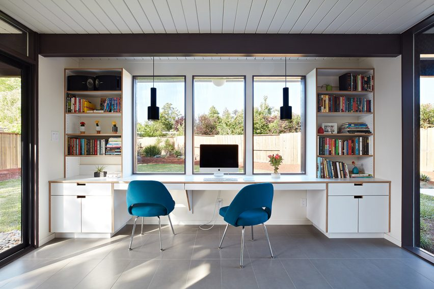 San Mateo Eichler Addition Remodel by Klopf Architecture