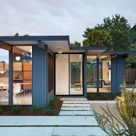 Klopf Architecture updates mid-century modern Eichler home in Silicon Valley