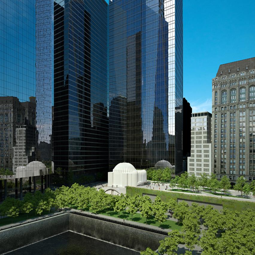 Work halts on Calatrava's Greek Orthodox church at World Trade Center site