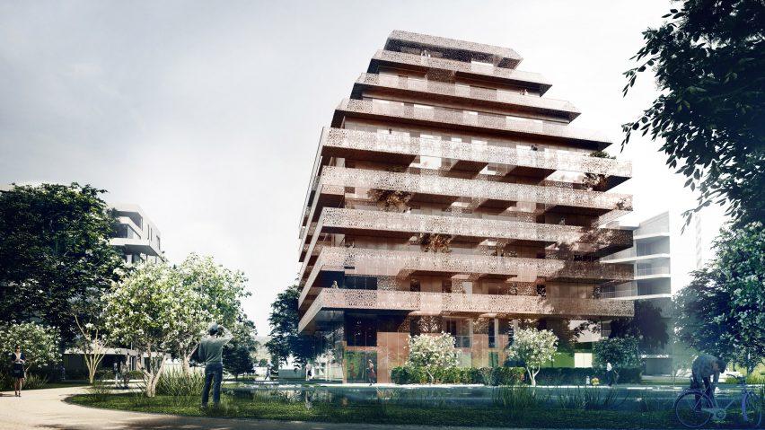Ski Vest tower by Reiulf Ramstad Arkitekter
