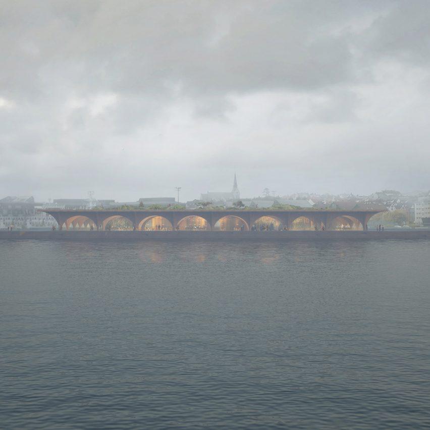 Stavanger visitor centre by COBE